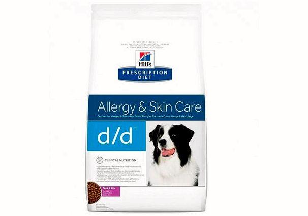 Hills Prescription Diet против аллергии
